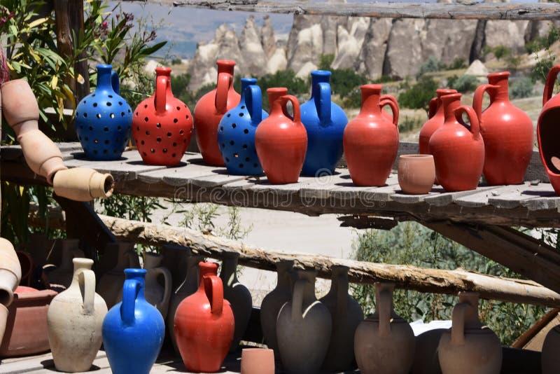 Vallée de pigeon dans Cappadocia, Turquie photo stock
