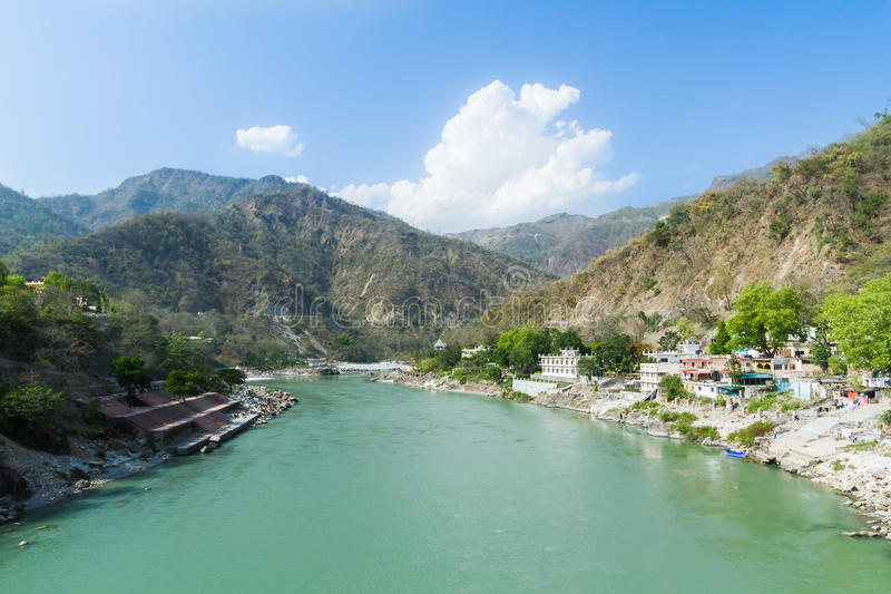 Vallée de Rishikesh photographie stock