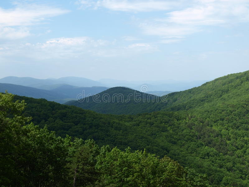 Vallée de Shenandoah en Virginie - Etats-Unis image stock