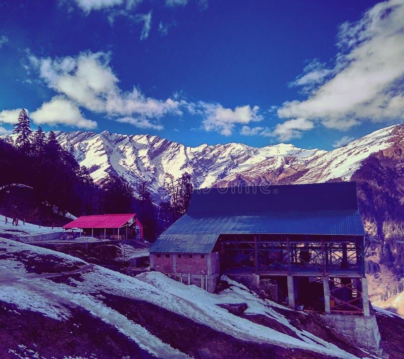 Vallée de Solang images stock