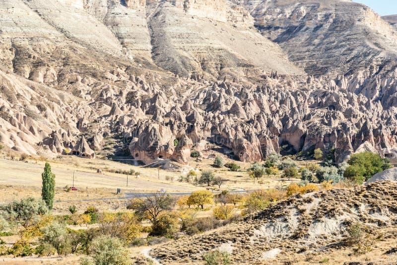 Vallée de Zelve dans Cappadocia La Turquie photos libres de droits
