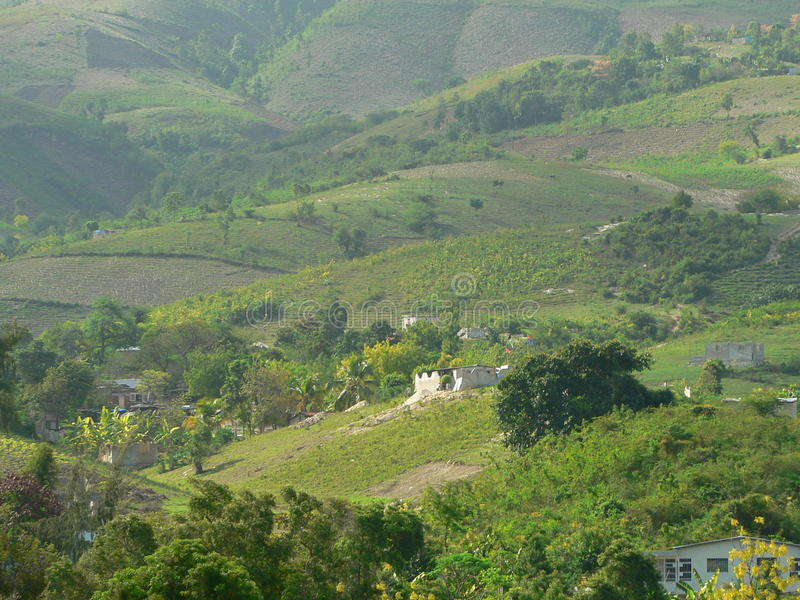 Vallée du Haïti photos libres de droits