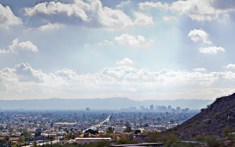 Vallée du Sun, Phoenix, AZ photographie stock libre de droits