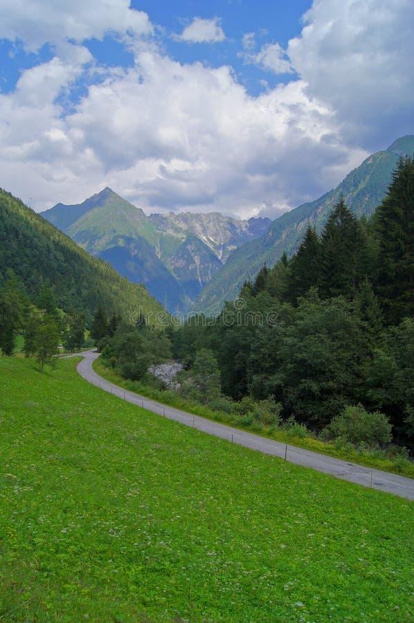 Vallée en Autriche photographie stock