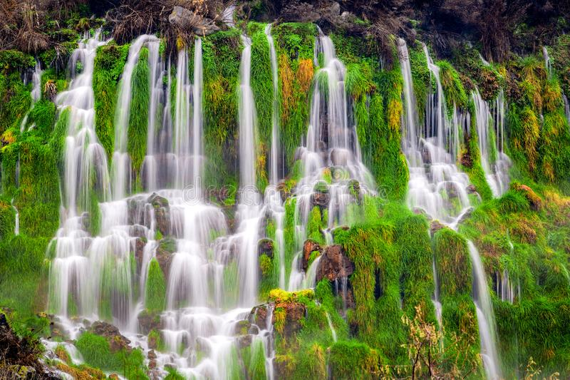 Vallée Idaho de Hagerman mille casc de cascade de parc d'état de ressorts photos stock