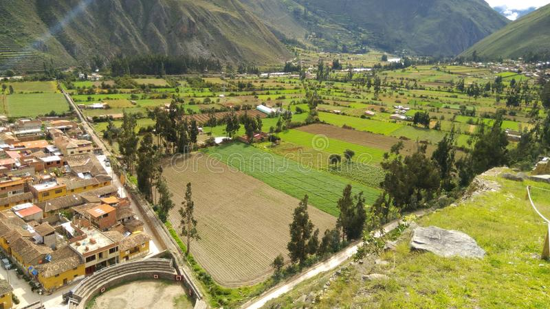 Vallée sacrée des Inca, Ollantaytambo vers Machupicchu photographie stock libre de droits