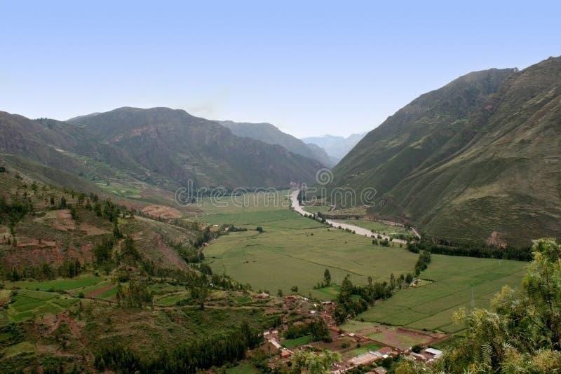 vallée sacrée du Pérou images libres de droits