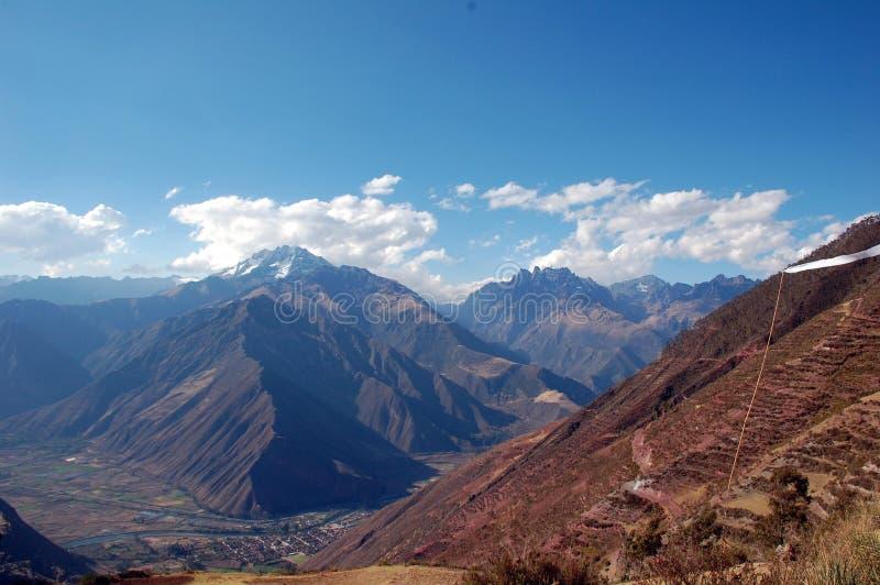 Vallée sacrée Pérou images libres de droits