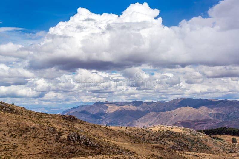 Vallée sacrée près de Cuzco, Pérou images stock