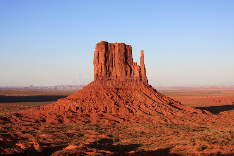 vallée tribale des Etats-Unis de stationnement de Navajo de monument de l'Arizona image libre de droits