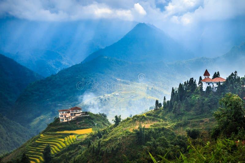 Vallée Vietnam images libres de droits