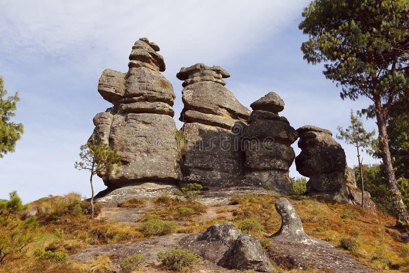 Vallée XIX d'encimadas de Piedras photographie stock
