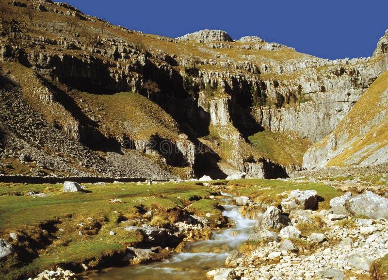 Vallées de Yorkshire photographie stock libre de droits