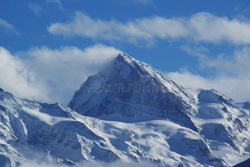 Vallées svizzeri del quatre delle alpi immagini stock libere da diritti