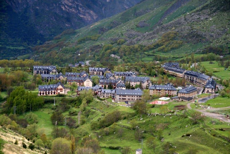Vall de Boi, Каталония стоковое изображение rf
