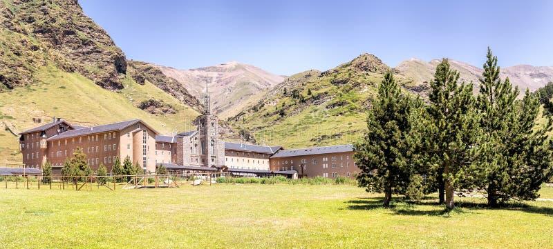 Vall de Nuria fotografía de archivo libre de regalías