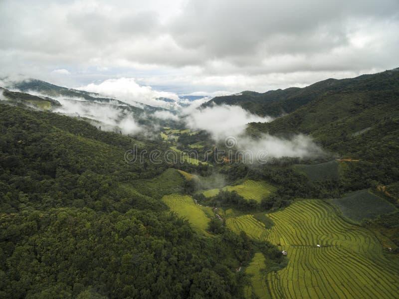 Vall?e en Chiang Mai, Tha?lande photos libres de droits