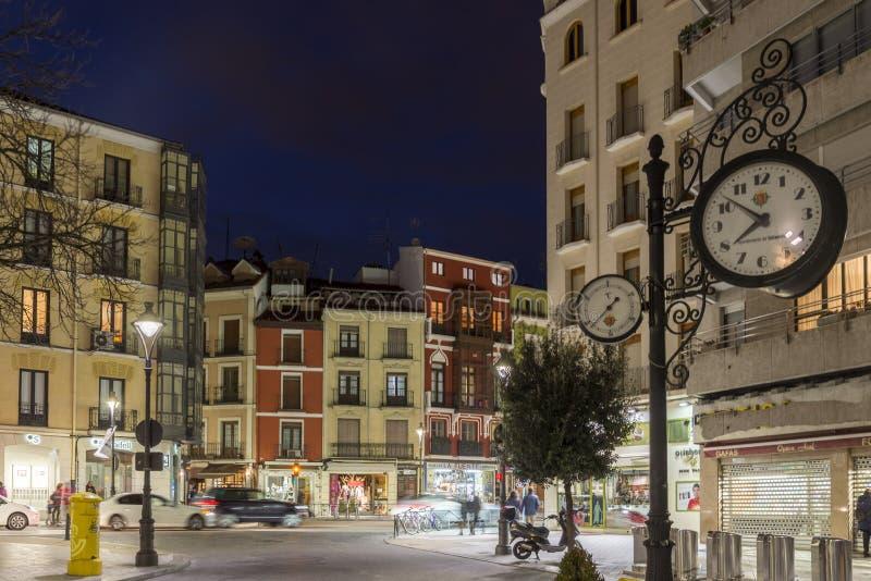 Valladolid è antico calmo fotografia stock
