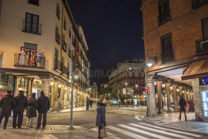Valladolid è antico calmo fotografia stock libera da diritti