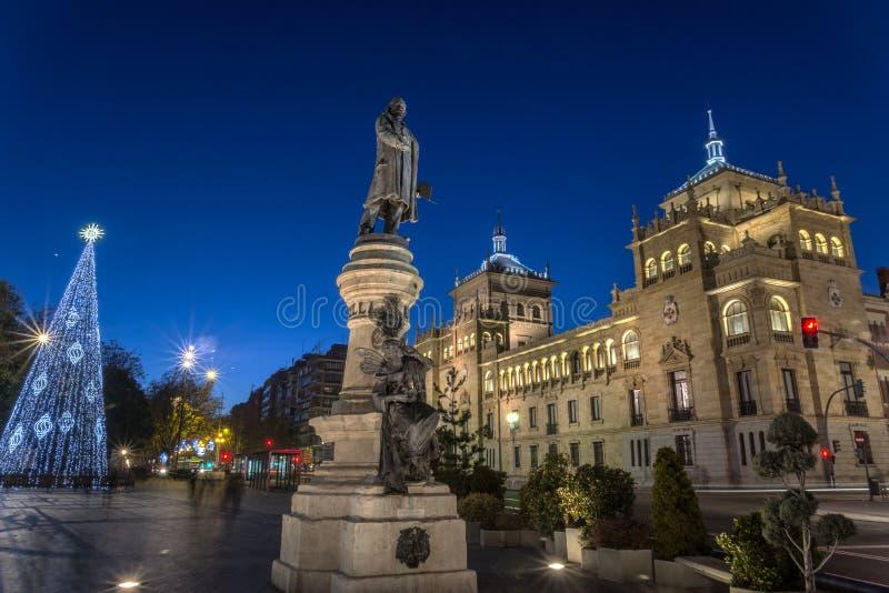 Valladolid, akademia kawaleria zdjęcia stock