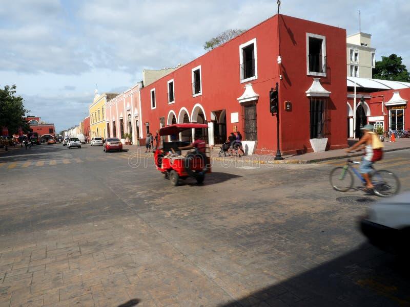 Valladolid daglig plats arkivfoton
