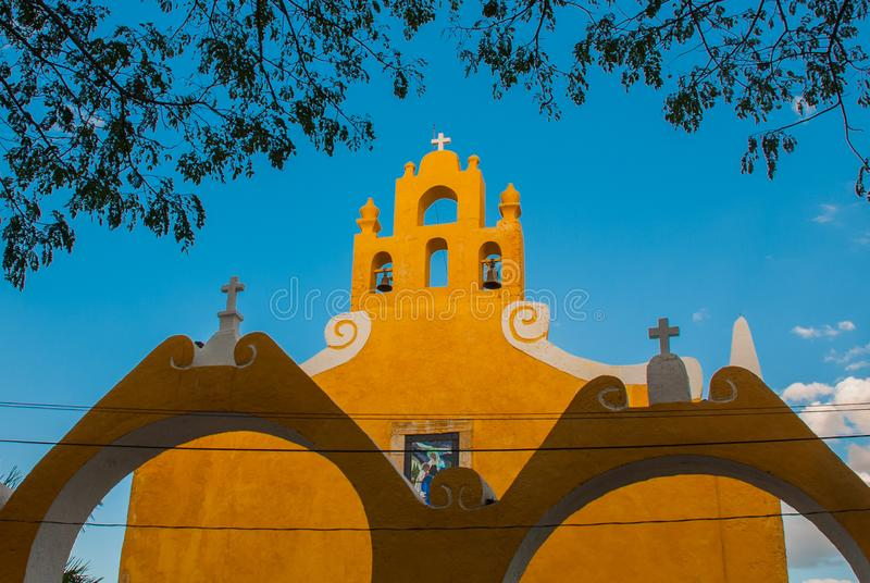 Valladolid, Mexique Église de St Anne Valladolid Yucatan, Mexique images stock