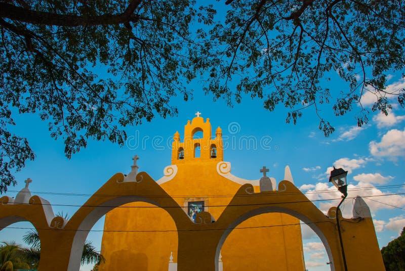 Valladolid, Mexique Église de St Anne Valladolid Yucatan, Mexique image stock