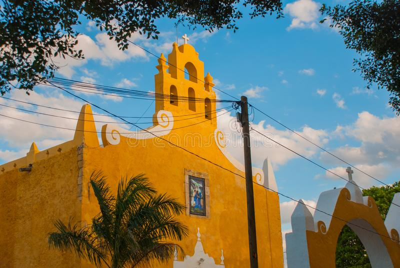 Valladolid, Mexique Église de St Anne Valladolid Yucatan, Mexique photographie stock