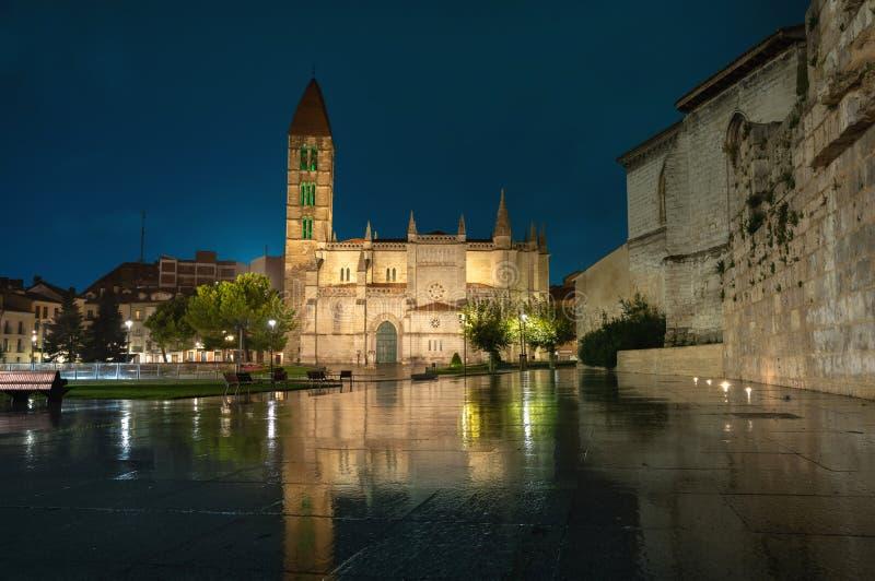 Valladolid, Spanien Kirche Santa Maria La Antigua stockfoto