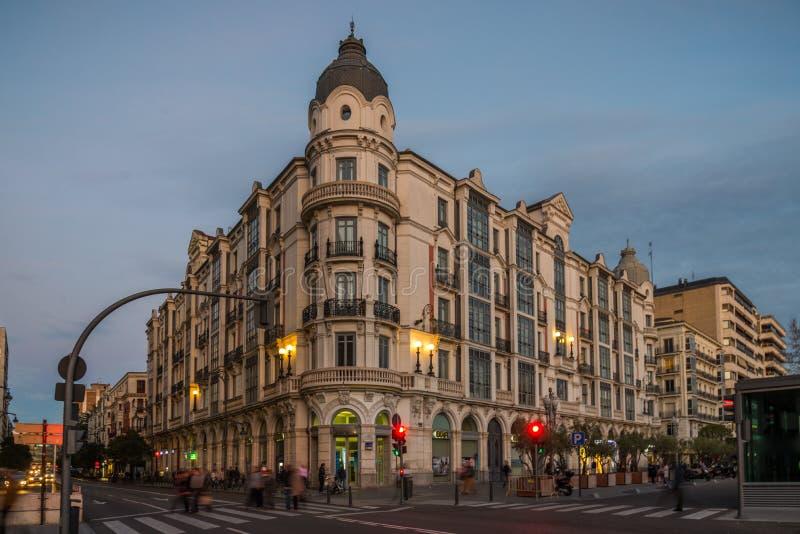 Valladolid stad arkivfoton