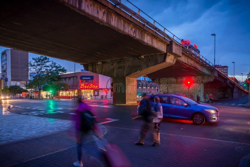 Valladolid stad fotografering för bildbyråer