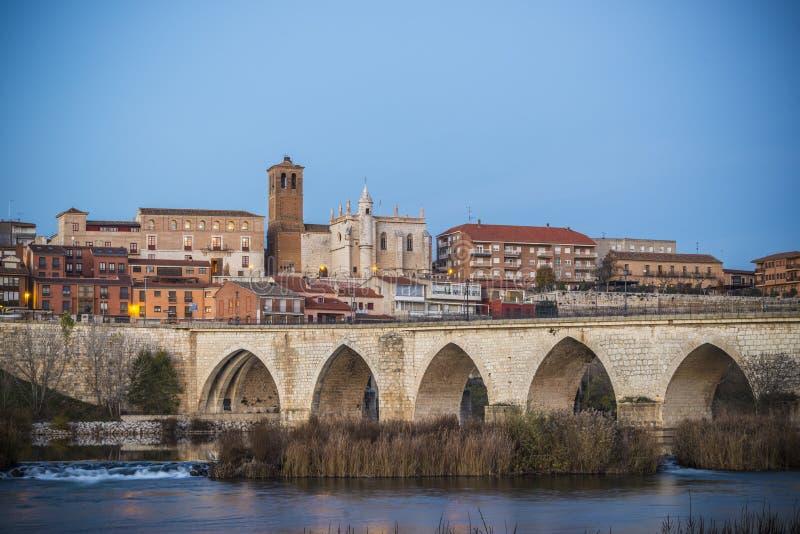 Valladolid, Tordesillas stockbild