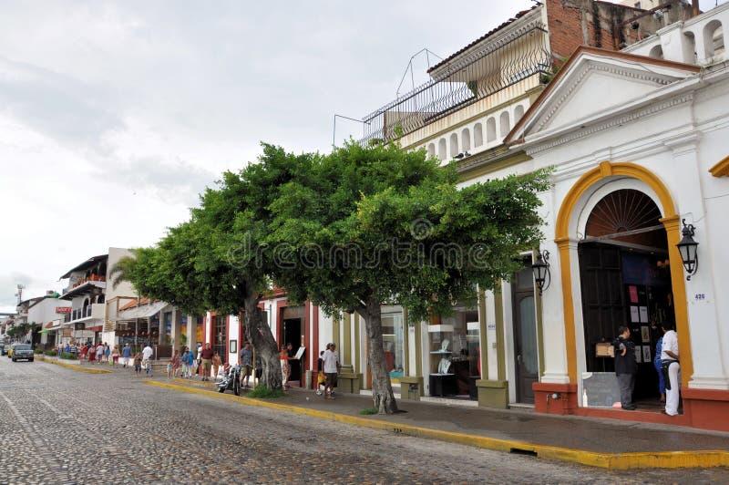 vallarta puerto malecon стоковое фото