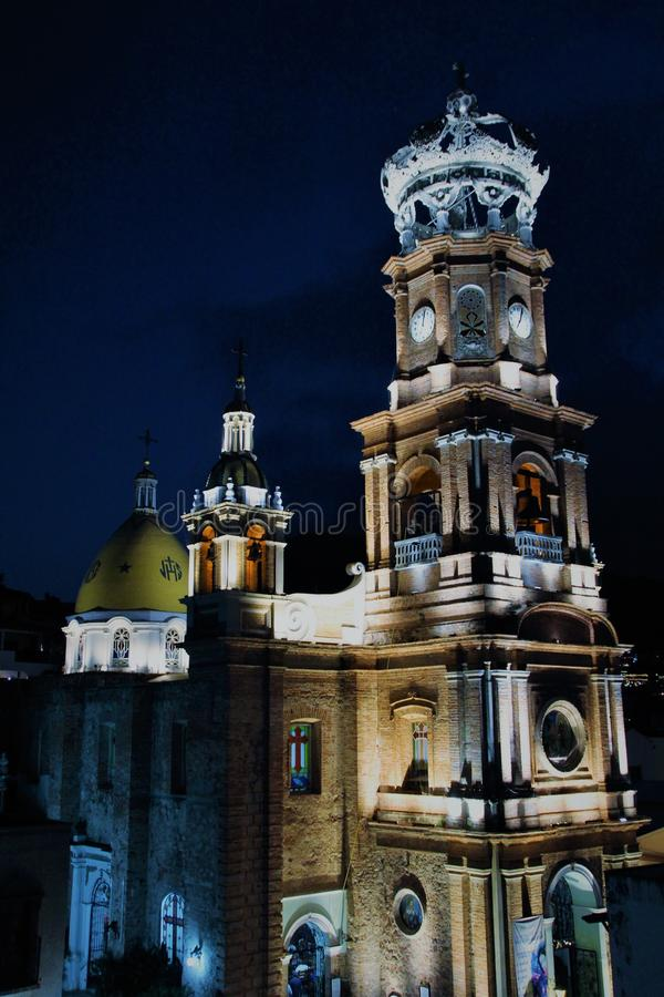 Vallarta ` s大教堂2 库存照片