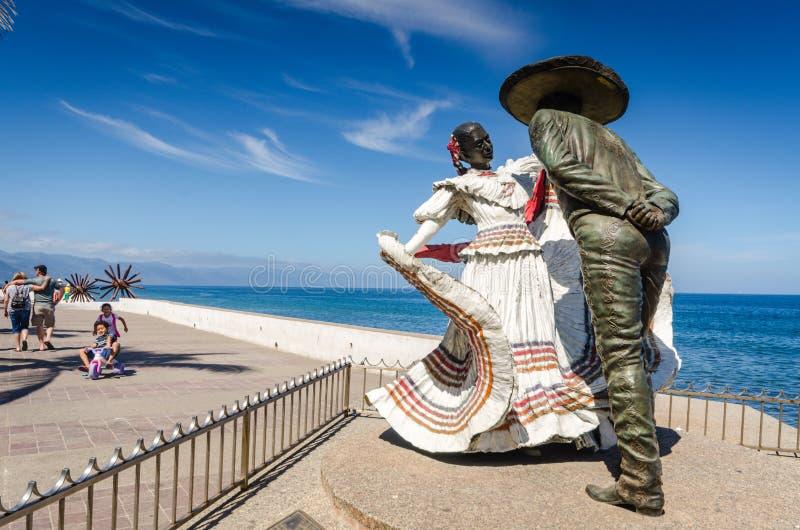 Vallartadansers - Puerto Vallarta, Mexico royalty-vrije stock afbeeldingen