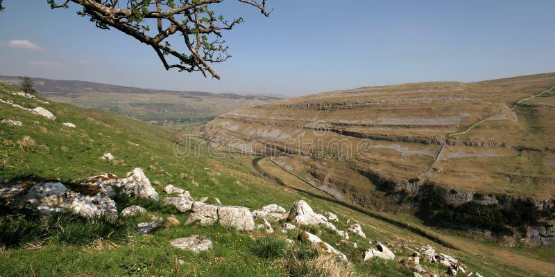 Vallate del Yorkshire, Littondale immagini stock
