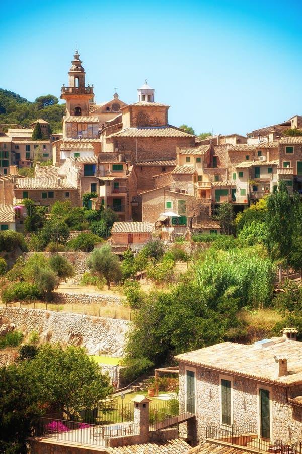 Valldemosa by i Mallorca arkivfoto