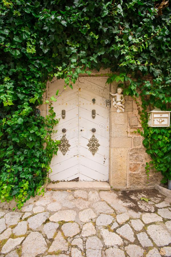 Valldemossa, jardin de Frederick Chopins image stock