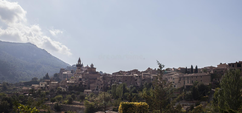 Valldemossa village in Mallorca royalty free stock photography