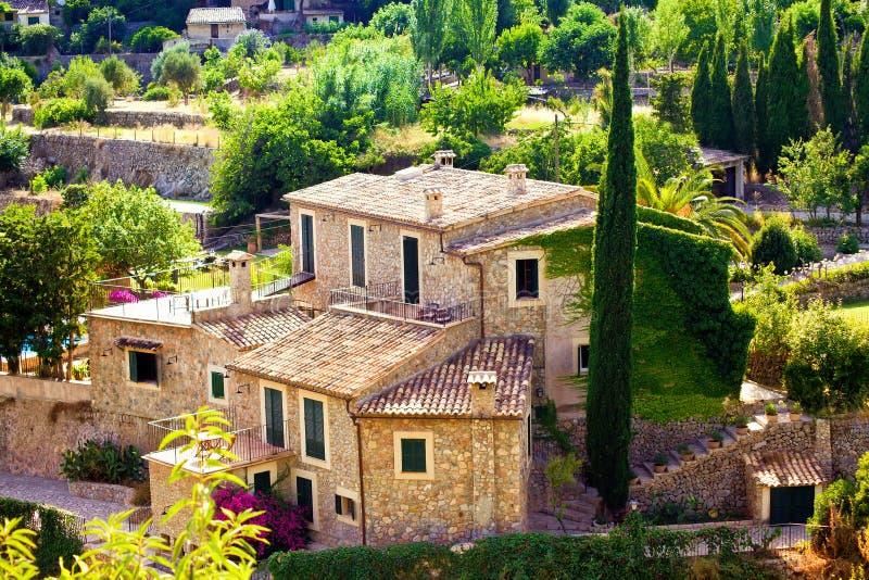 Valldemossa wioska, Mallorca zdjęcia stock