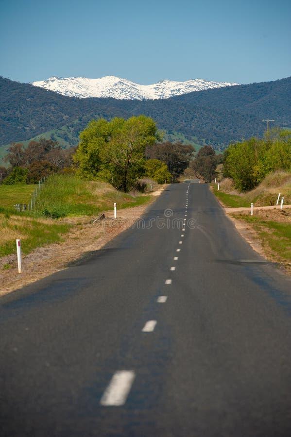Valle Australia di Kiewa fotografia stock