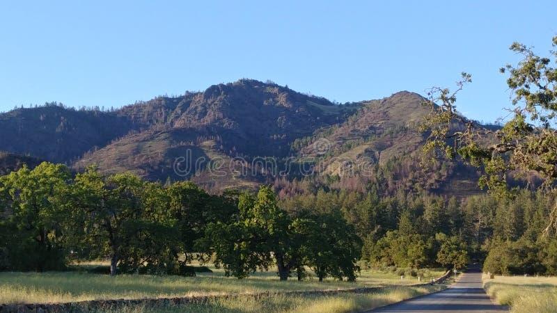 Valle CA los E.E.U.U. de Sonoma fotografía de archivo