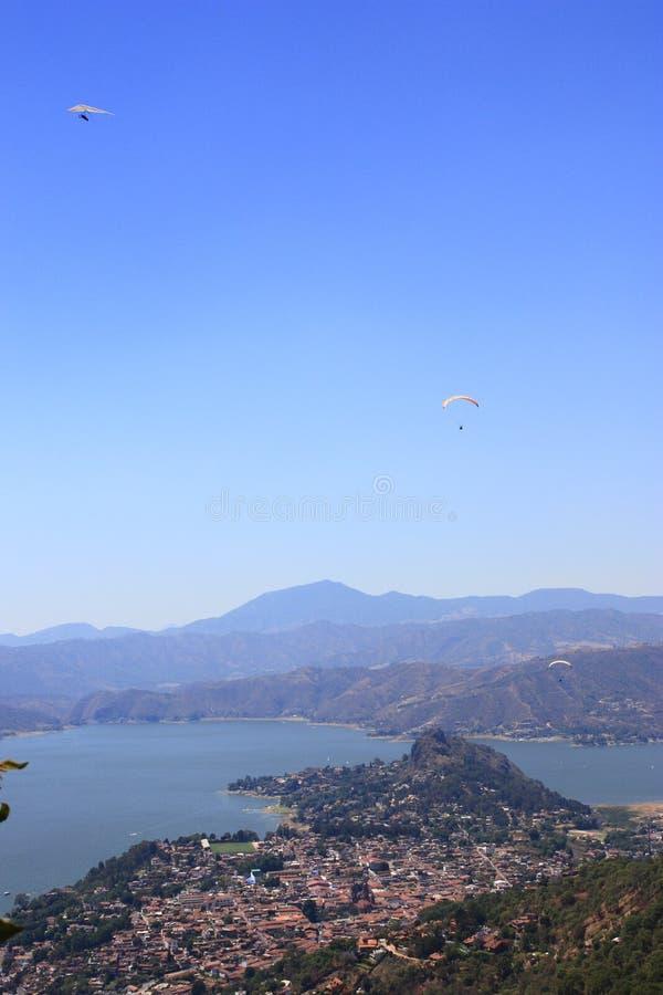 Download Valle de bravo aerial stock photo. Image of danger, chute - 10966856