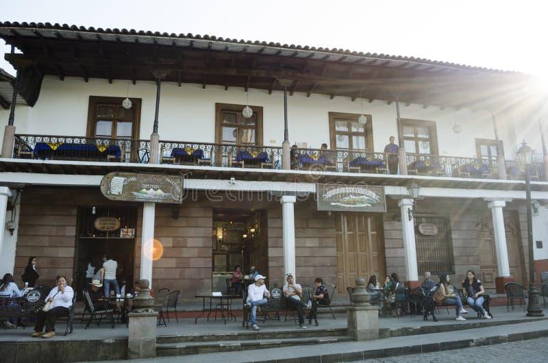 Valle de bravo, México imagens de stock royalty free
