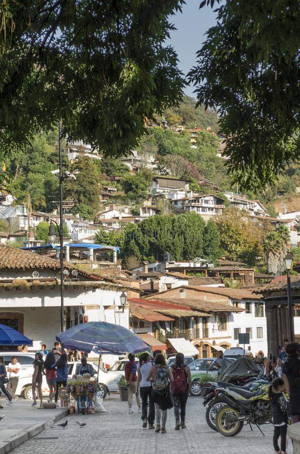 Valle de bravo, México foto de stock