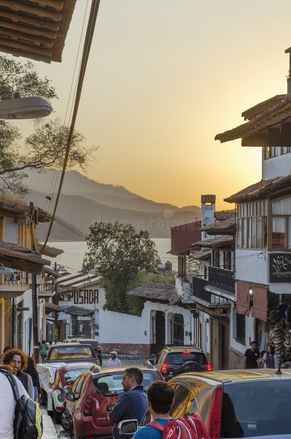 Valle de bravo, México fotos de stock royalty free