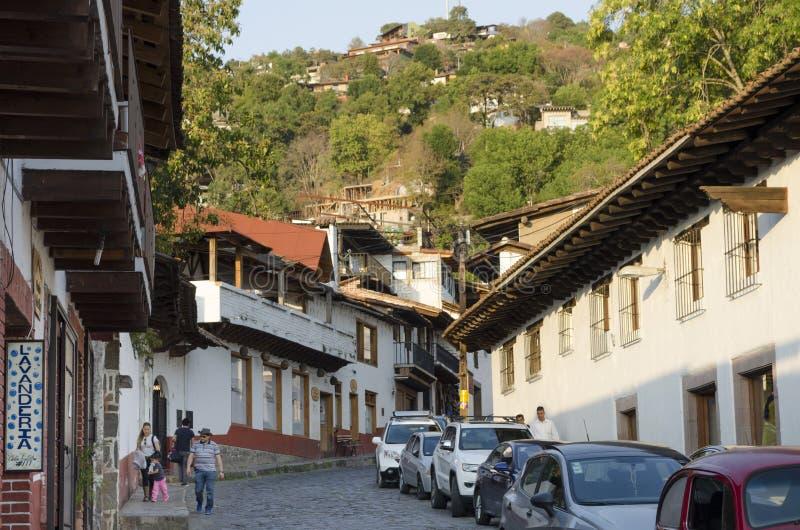 Valle De Bravo, Meksyk zdjęcia stock