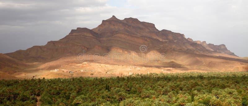 Valle de Draa imágenes de archivo libres de regalías