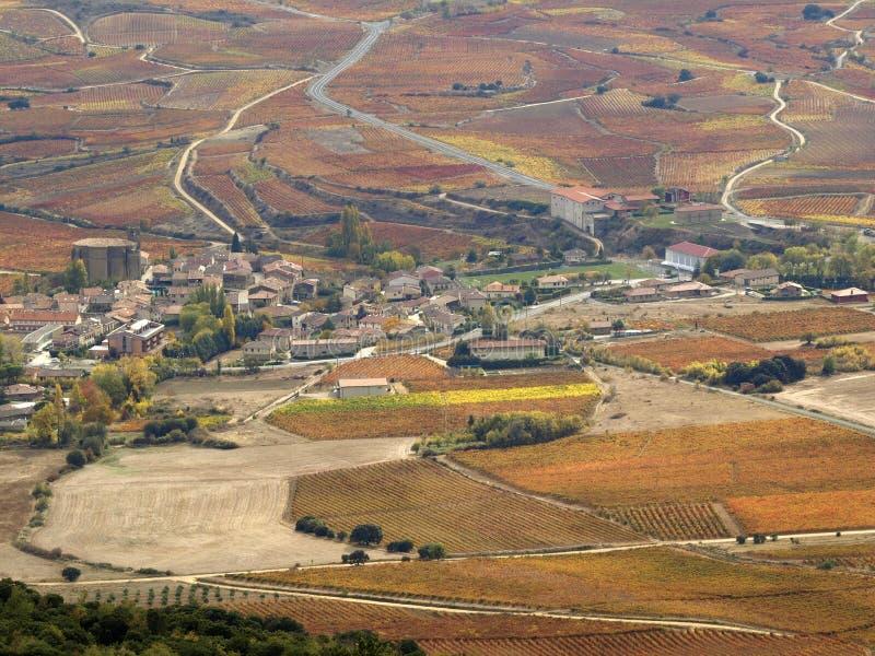 Valle de Ebro imagen de archivo