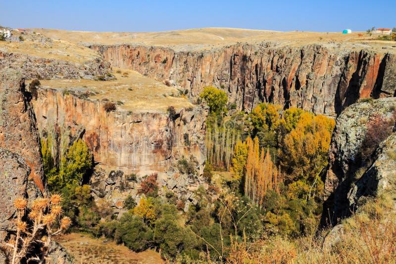 Valle de Ihlara fotos de archivo libres de regalías